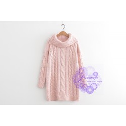 2015年日系潮流長款設計冷衫