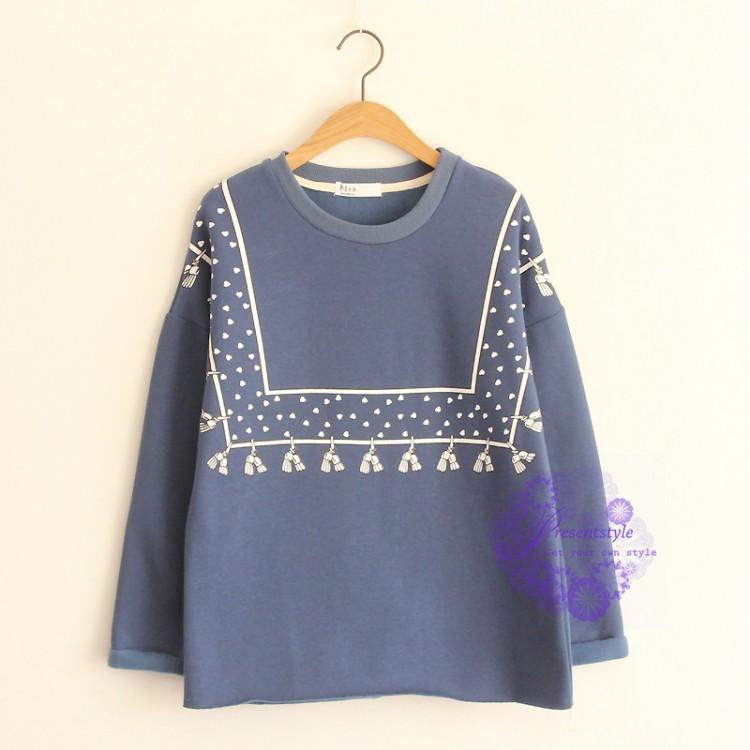 服装 10月26日更新 2015年日系潮流民族风设计t恤