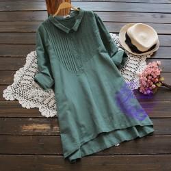 2017年日系優雅淨色設計連身裙