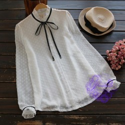 2017年日系優雅修身設計恤衫