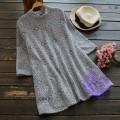 2017年日系優雅lace設計連身裙