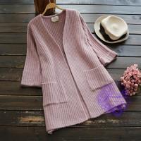2017年日系優雅直間設計冷衫
