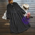 2017年日系優雅直間設計連身裙