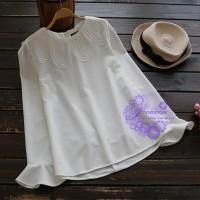 2017年日系優雅特式領設計T恤/衛衣