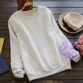 2015年日系優雅淨色設計T恤/衛衣